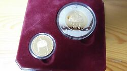 1999 Millenium Hungary Gold And Silver Coin Set