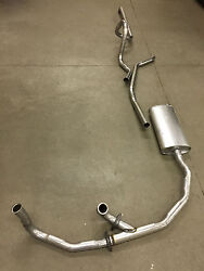 1963 Cadillac Single Exhaust System 304 Stainless Without Resonator