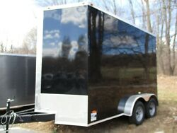 2019 Freedom 7x12TA2 Enclosed Cargo Trailer w Heavy Duty Ramp Door!
