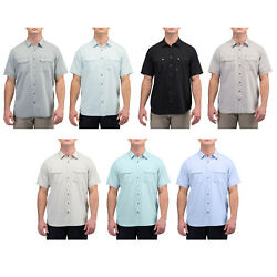 5.11 Tactical Menand039s Herringbone Short-sleeve Shirt Button-up Style 71375 Xs-2xl