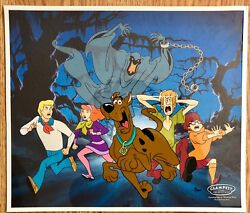 Scooby Doo Relp Itand039s The Green Ghost Rare Number 2 Sericel And Bonus Promo Card
