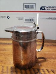 Antique Rogers. Smith And Co. New Haven Conn. 1888 Pitcher Syrup Water