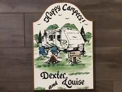 Travel Trailer Sign- Camping Signs-personalized