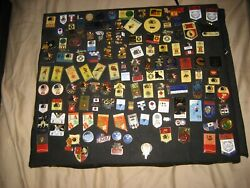 Over 650 1980/1984 Olympic Pins Law Enforcementmediauniversitycountriescoca