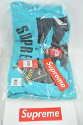 Supreme The Large Mountain Parka Arc Logo Teal Ss19 In Hand