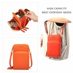 Crossbody Cell Phone Shoulder Bag Card Holder Fashion Small Bags for Women New GBP 26.59