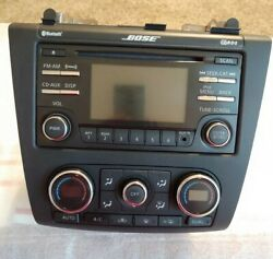 2010 2011 2012 Nissan Altima AM FM CD  Radio Receiver WClimate OEM 28185 9HA0A