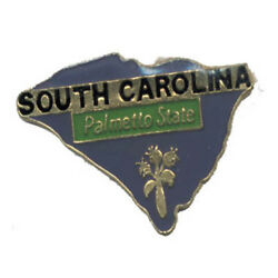 Wholesale Lot Of 12 South Carolina State Shaped Lapel Hat Pins Tie Tac Fast Ship