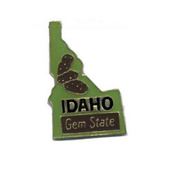 Wholesale Lot Of 12 Idaho State Shaped Lapel Hat Pins Tie Tac Fast Ship
