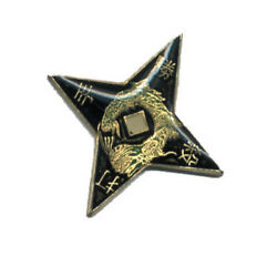 Wholesale Lot Of 12 Throwing Star Lapel Hat Pins Tie Tac Japanese Fast Usa Ship