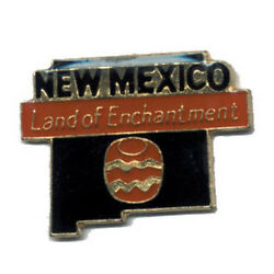 Wholesale Lot Of 12 New Mexico State Shaped Lapel Hat Pins Tie Tac Fast Ship