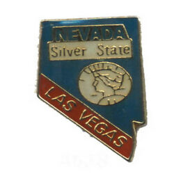 Wholesale Lot Of 12 Nevada State Shaped Lapel Hat Pins Tie Tac Fast Ship
