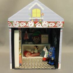 Dollhouse Miniature Toy Shop Roombox Scenario In A Box