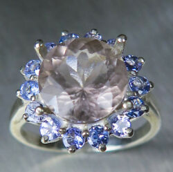 3.3ct Natural Scapolite 925 Silver / 9ct 14k 14ct 18k 18ct Gold / Platinum Ring