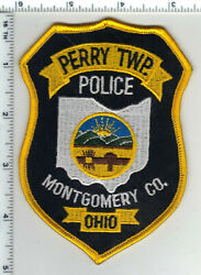 Perry Township Police Ohio 1st Issue Montgomery County Shoulder Patch