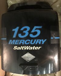 Mercury Saltwater Optimax 135 Hp V6 Outboard Engine Hood Cover Cowling Cowl