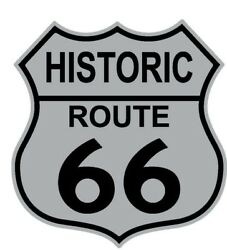 Wholesale Lot Of 12 Route Us 66 Shield Lapel Hat Pins Fast Usa Shipping