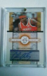 Ud Top Prospects Signs Of Success Carmelo Anthony Auto