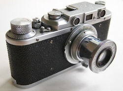 Export Version Of World War Ii Era Fed-1 With Lens, The Best Russian Leica Copy