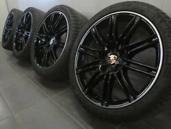 21 Inches Original Summer Wheels Porsche Cayenne 958 Sport Edition 92a
