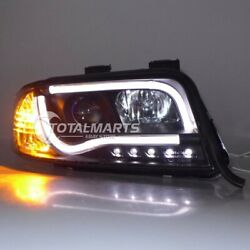 HID Headlights For Audi A6 2001 2002 2003 2004 Front LED Bi-xenon Projector a017