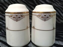 1 Gorham Florentine Pearl Salt And Pepper Shaker Set 3 Inches Tall, 1985-1990