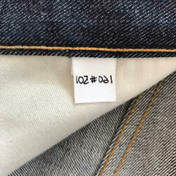 Levi's 501 mirror jeans LVC 1976 Limited to 501 Serial numbered Men Size M RARE
