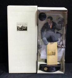 Franklin Mint Frank Sinatra Musical Porcelain Doll Never Out Of The Box