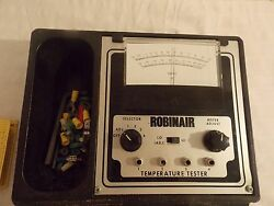 Robinair 14840 Analog Thermometer With Leads