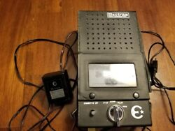 Electra Radio Corporation Cassette Player With Microphone Vintage Antique