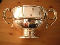 George V Silver Trophy Cup. London 1919 Charles Edwards 18.5 Troy Ounces.