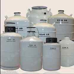 30l Liquid Nitrogen Ln2 Storage Tank Static Cryogenic Container With Sleeve S