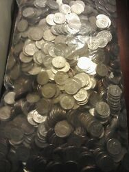 2000 Us. Half Dollar Coin Lot Unsearched For Silver Or Errors+10 Silver Coins