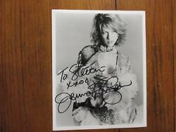 Jenna Elfman Dharma And Gregsigned 8 X 10 Glossy Black And White Photo