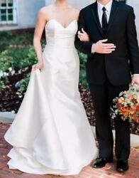 Wedding Dress - Ivory - Fit And Flair - Altered - Originally Size 12