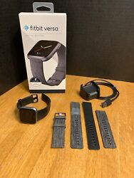 Fitbit Versa Special Edition Fitness Activity Tracker Health Small Large Bands