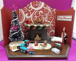 Dollhouse Miniature 112 Scale After Christmas Roombox