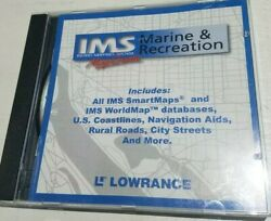 Lowrance Inland Mapping System Marine And Recreation Mapcreate Pc Computer Cd Gps