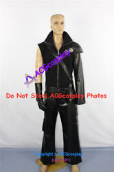 Final Fantasy Vii 7 Cloud Strife Cosplay Costume With Wolf Head Pin Ornament