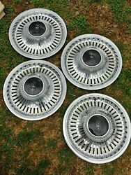 Oldsmobile Gm Wheel Cover Set 4 1970and039s Nos 9755128 983436 Hub Cap