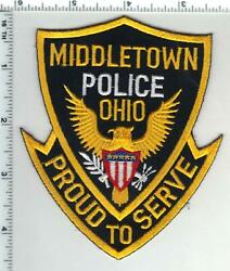 Middletown Police Ohio 2nd Issue Shoulder Patch