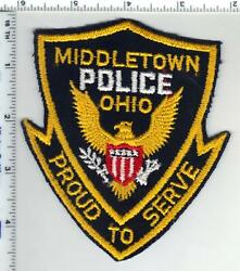 Middletown Police Ohio 1st Issue Shoulder Patch