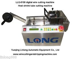 digital Wire Cutting Machine, heat shrink tube cutting, soft tube cutting