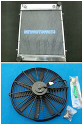 Radiator+Fan For Land Rover Defender & Discovery 200 TDI 2.5 Turbo diesel 89-94
