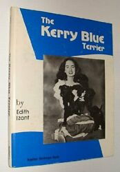 KERRY BLUE TERRIER By Edith Izant - Hardcover *Excellent Condition*
