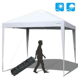 Quictent 10'x10' Heavy Duty Pop Up Commercial Wedding Party Tent Canopy Gazebo