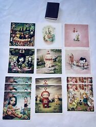 Mark Ryden Lot Miniture Limited Edition Book Inscribed + Cd + 13 Post Cards