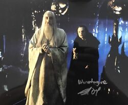Brad Dourif Hand Signed 10x8 Lord Of The Rings Photograph In Person Wormtongue