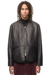 Our Legacy Leather Liner Jacket In Black Size Large/50 - Bnwt Rrp Andpound980