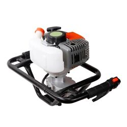 Vi 52cc Gas Power Earth Auger Post Fence Hole Digger Petrol Borer Ground Drill